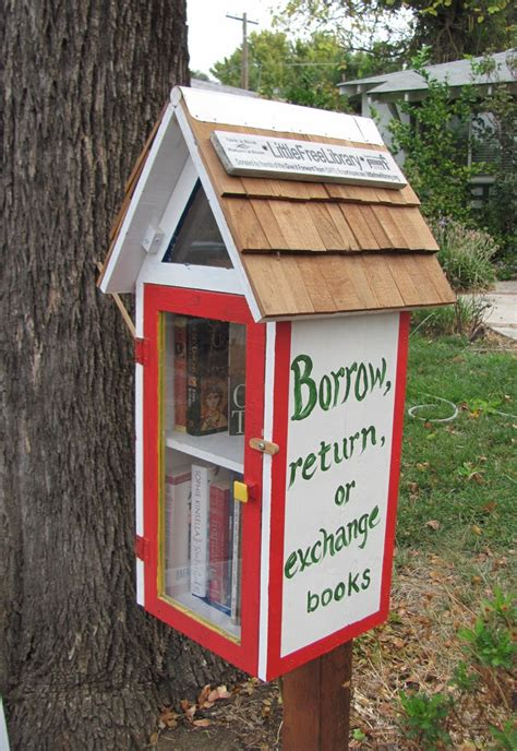 Book Shaped Little Library Plans