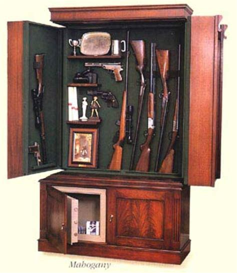 Bookcase Gun Cabinet Plans