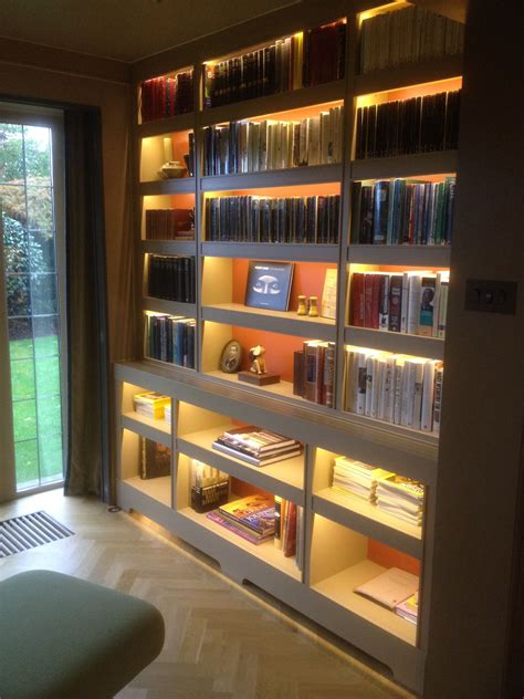 Bookcase Led Lighting Diy