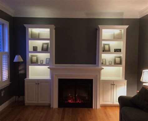 Bookcase Lighting Systems