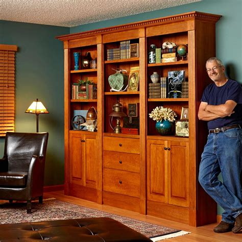 Bookcase Plans Family Handyman