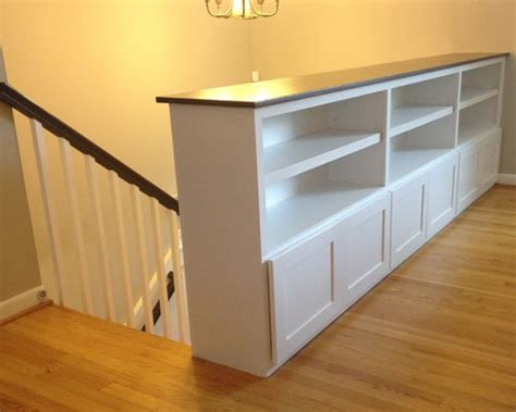 Bookcase Railing Plans