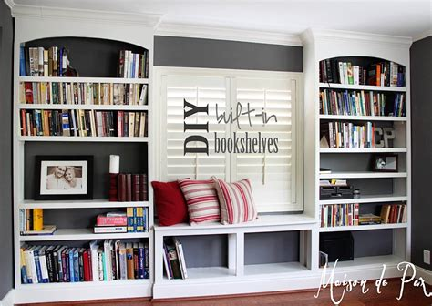Bookcase-Built-In-Diy