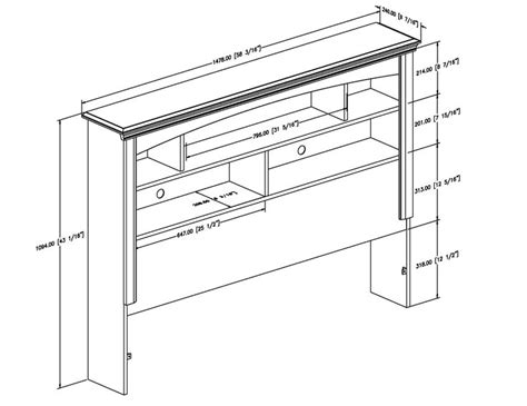 Bookcase-Headboard-Building-Plans