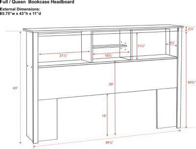 Bookcase-Headboard-Queen-Plans
