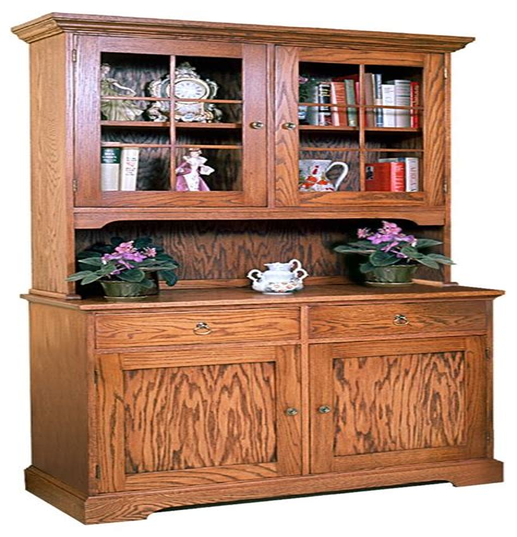 Bookcase-Hutch-Plans