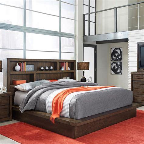 Bookcase-Platform-Bed-Plans