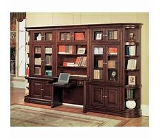 Best Bookcase and desk wall unit