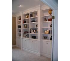 Best Bookcase built ins