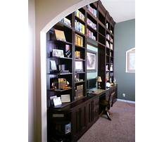 Best Bookcase desk wall units