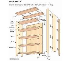 Best Bookcase shelf dimensions
