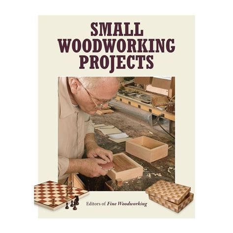 Books-On-Small-Woodworking-Projects