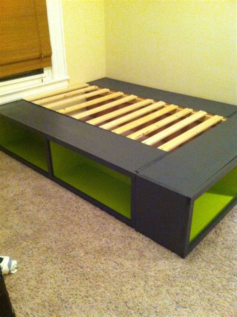 Bookshelf Platform Bed Diy Plans
