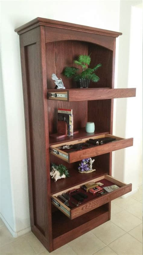 Bookshelf With Hidden Compartment