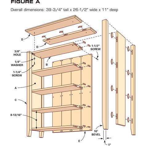 Bookshelf-Drawing-Plans