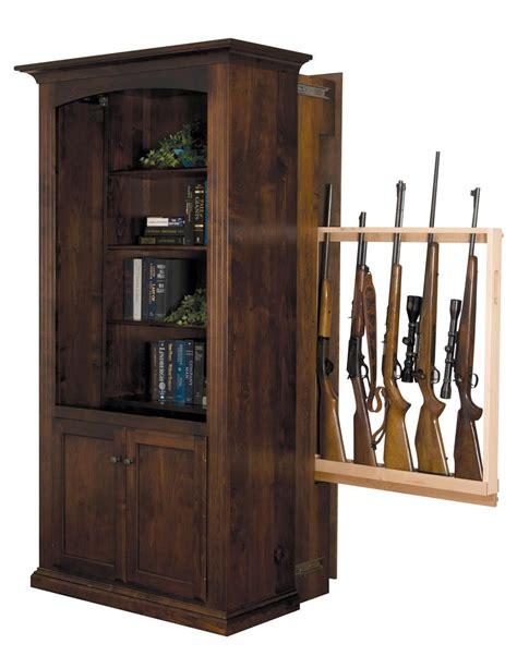 Bookshelf-Hidden-Gun-Cabinet-Plans