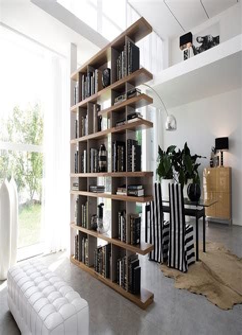 Bookshelf-Room-Divider-Diy