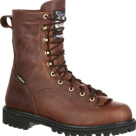 Boot Lace-to-Toe Gore-Tex Waterproof Insulated Work Boot