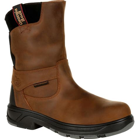 Boot Men's FLXpoint 6' CT M Georgia Steel Toe Work Boot