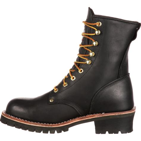 Boot Men's Georgia 8' Logger Boot Work Shoe