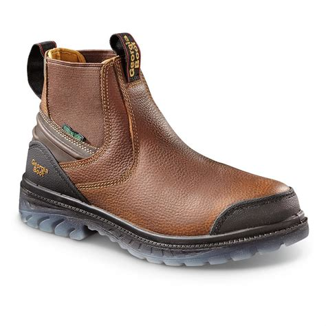 Boot Men's Georgia Zero Drag Work Shoe