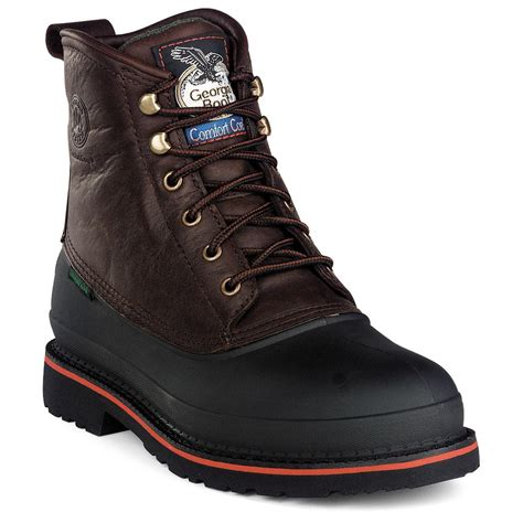 Boot Men's Muddog Waterproof Steel-Toe Work Boot