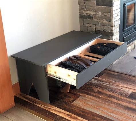 Boot-Storage-Bench-Plans-Free