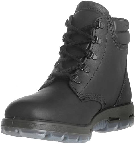 Boots USABK Outback Lace up Steel Toe - Black Leather