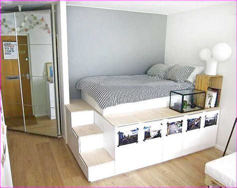 Border Storage Platform Bed Diy Ikea