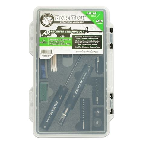 Bore Tech Ar15 Complete Upper Cleaning Kit Ar15 Ar10 And Brownells M14 M1a M1 Ratchet Chamber Brush Brownells
