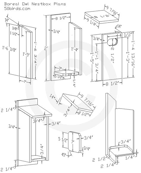 Boreal-Owl-Nest-Box-Plans