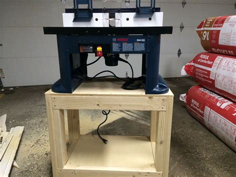 Bosch Router Table Stand Plans