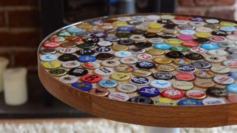 Bottle-Cap-Coffee-Table-Diy