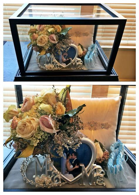 Bouquet Shadow Box Diy Step