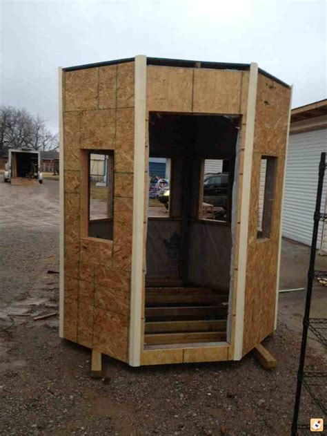 Bow Deer Box Blind Plans