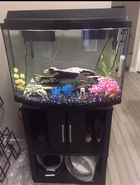 Bow Front Fish Tank Stand Plans