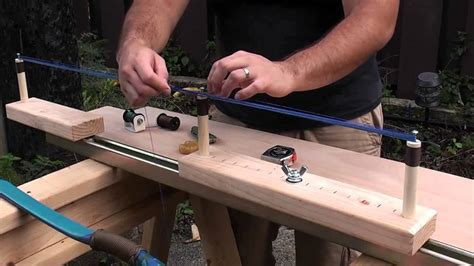 Bow String Making Jig Plans