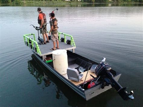 Bowfishing Jon Boat Plans