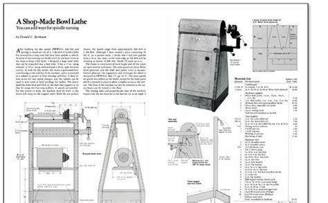 Bowl-Lathe-Plans