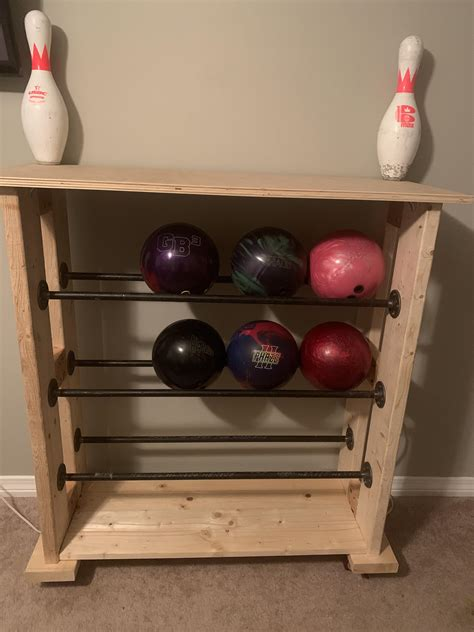 Bowling Ball Rack Plans