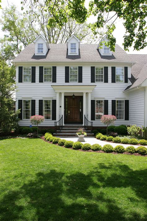 Box Colonial House Plans With Front Gable