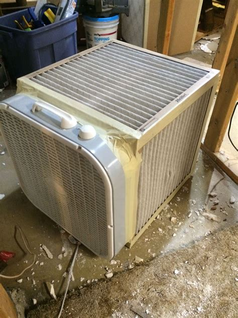 Box Fan Air Filter Diy