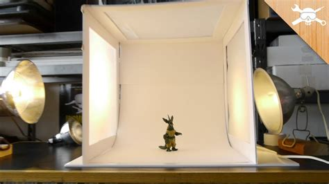 Box Lamp Diy Miniature