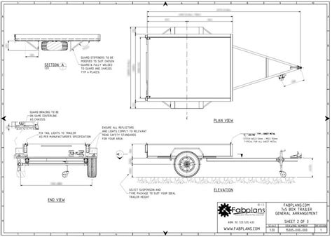 Box Trailer Plans Uke