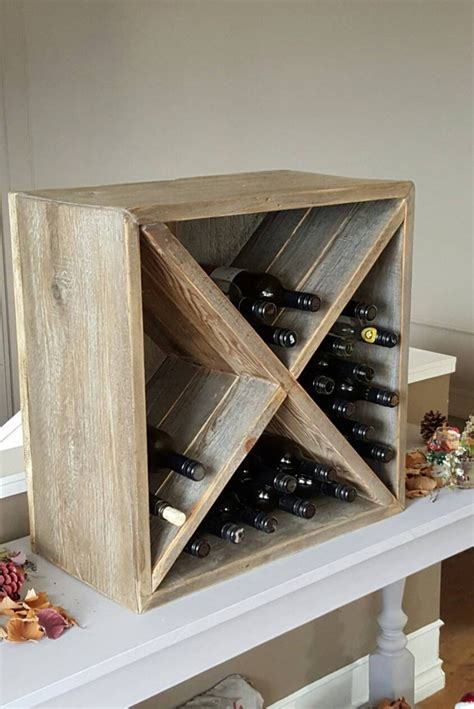 Box Wine Rack Plans