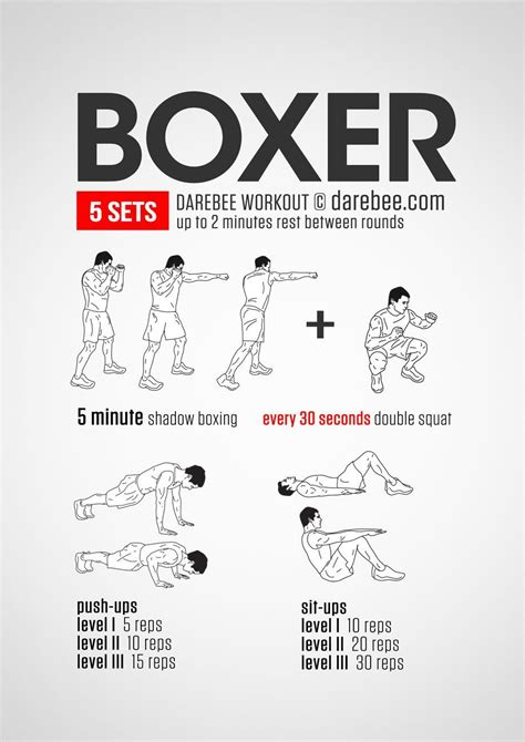 Boxing Workout Program At Home