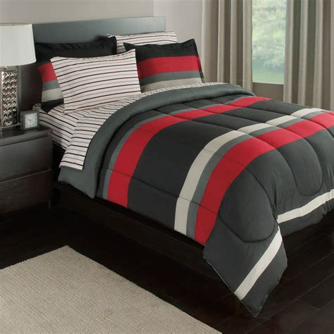Boys Bedding Gray
