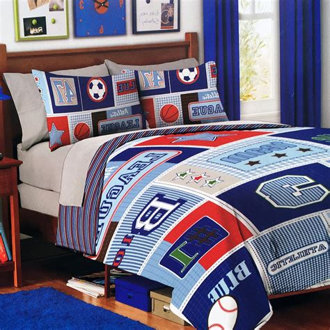 Boys Bedding Sports Theme