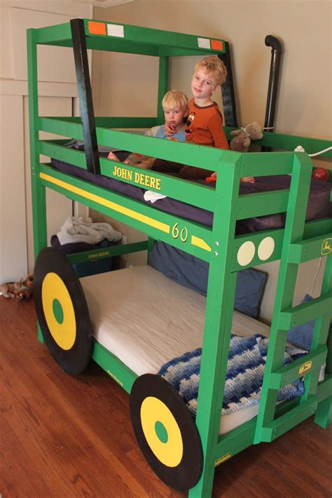 Boys-Tractor-Bed-Plans
