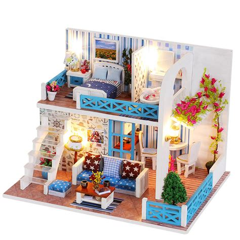 Boys-Woodworking-House-Model